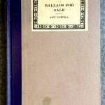 Ballads for Sale, 1927, Houghton Mifflin