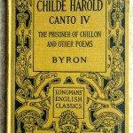 Childe Harold, 1911, Longmans Green and Go