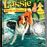 Lassie Finds a Friend, 1960, Whitman Publishing