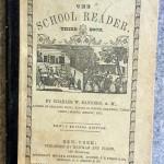 School Reader, 1841, Charles W Sanders