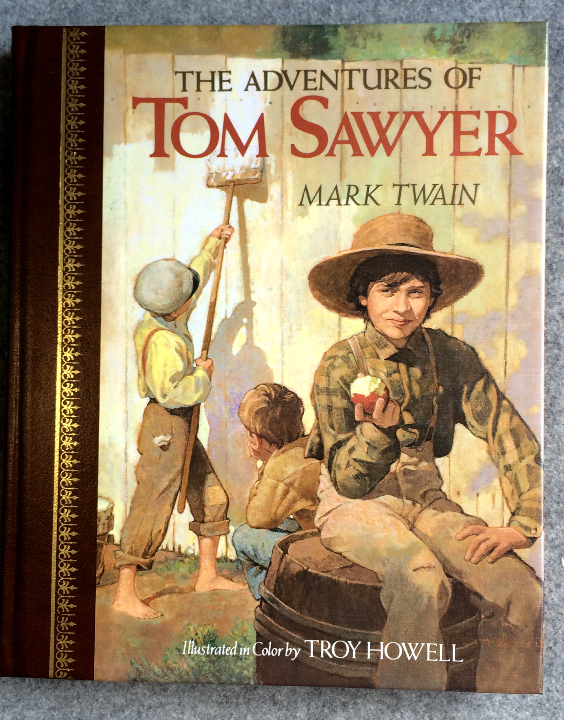 the adventures of tom sawyer 1989 children 39 s classics. Black Bedroom Furniture Sets. Home Design Ideas
