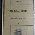 The New South, 1919, Yale University Press